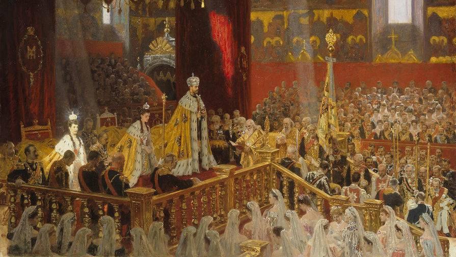 Лауриц Туксен. Коронация императора Николая II Александровича и императрицы Александры Феодоровны...