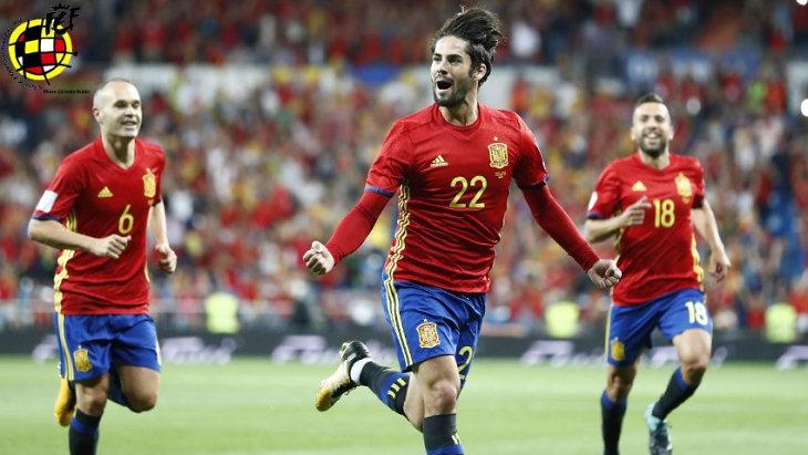 Футболисты сборная Испании