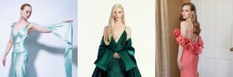 20 самых красивых платьев с церемонии «Золотой глобус - 2021»